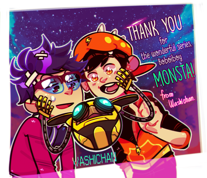 THANK YOU MONSTA by Washichan