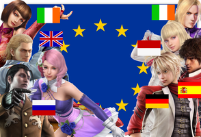 Tekken 6 EU Fighters by meteora090