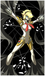 Aigis - Shadow Attack by Great-Dude by Shaded-Seraphim