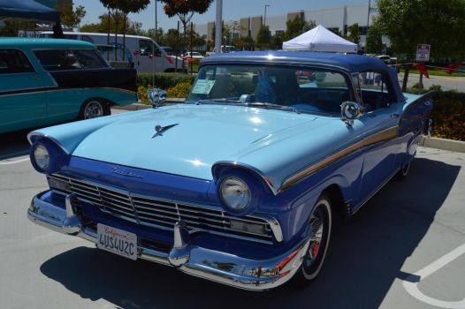 1957 Ford Fairlane 500 Convertible VIII by Brooklyn47
