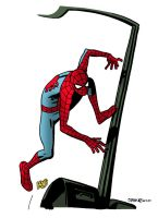Samnee's Spidey- simple colors by mattcrap