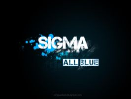 Sigma - All blue by th3guardian