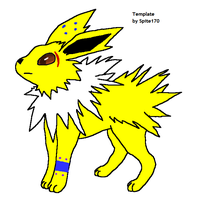 Nero the Jolteon by horsekid11