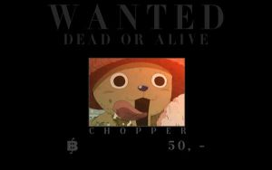 One Piece: Wanted - Chopper by ailend