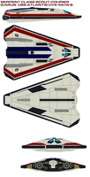 Serpent Class Scout-Courier Icarus by bagera3005