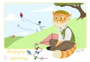 Freckle: Happy Spring by Crispy-Gypsy