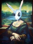 Rabbit Lisa by HillaryWhiteRabbit