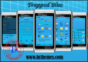 Trapped Blue by Blue_Ray by Brthemes