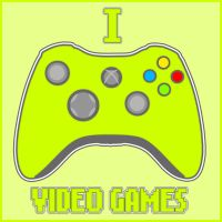 I Love Video Games by Icono-Graphic