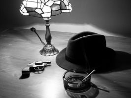 Film Noir Style Photo 01 by Ollywood