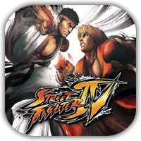 Street Fighter IV Game Icon by Wolfangraul