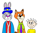 Nick Wilde and Judy Hopps Meeting Dil Pickles by MikeEddyAdmirer89