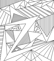 Abstract Lineart 7 by drachenlilly