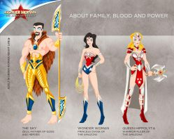 Wonder Woman Cartoon Show: About Blood and Power by tremary