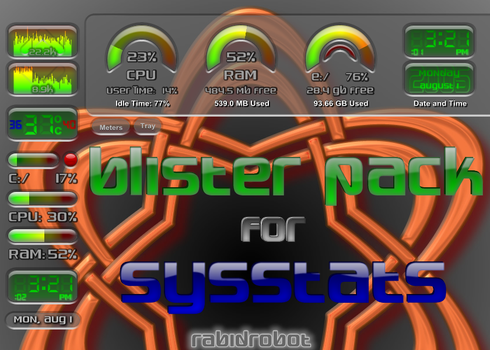 Blister Pack Meter Suite by hypknotic