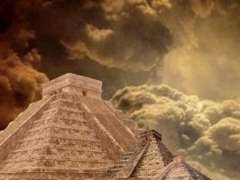 Mayan Pyramids pngs by manoluv