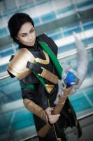 Loki: God of Mischief by yinami