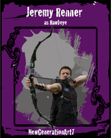Jeremy Renner as Hawkeye CTC Version 2 by NewGenerationArt7