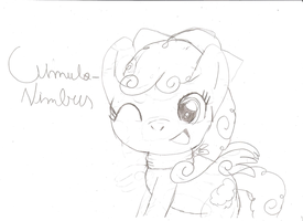 My Little Pony OC-Cumulonimbus by KathyKid