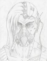 WIP 2 - Gang Cyborg by The-BenT-One