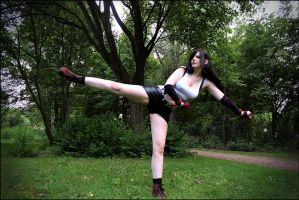 Tifa Lockhart | Take that! by EwelinaMalke