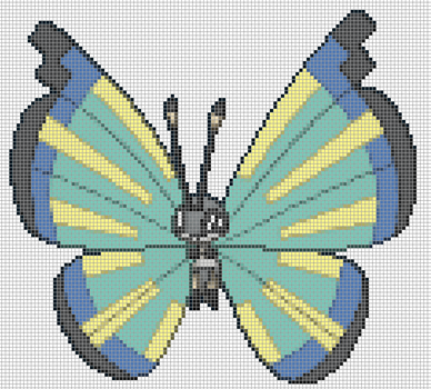 666.14  Vivillon by Electryonemoongoddes