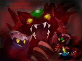 meta knight and wolfwrath BG by metamorro