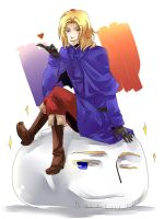 APH - France and his Mochi by Hetalia-Canada-DJ