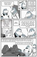 Time Out Page 8 - Advice and An Evil Space Monkey by Joe5art