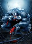 Venom vs Spiderman by EnricoGalli