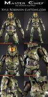 Custom Halo 3 Master Chief 1 by KyleRobinsonCustoms