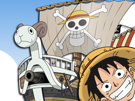 luffy_and_merry by b1kkur1