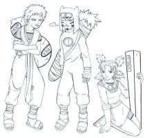 bratty Gaara and Company by -babykefka-