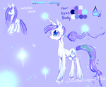 pony oc ref sheet: Tainted purity by AquaGalaxy
