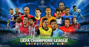 Uefa Champions League  Knockout phase  Round of 16 by jafarjeef
