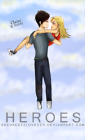 Heroes :: Claire and West by sasukee23loveeer