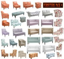 Furniture Pack 4 by amir2012
