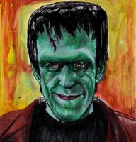 Herman Munster - The Munsters - Fred Gwynne by smjblessing