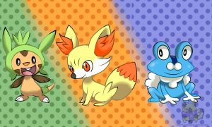 Gen 6 Starters by St3ffimon