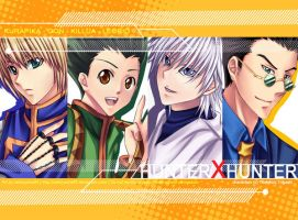 Hunter X Hunter fanart by nekoyasha89