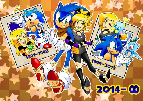 Years of Sonic by BatzyDRae