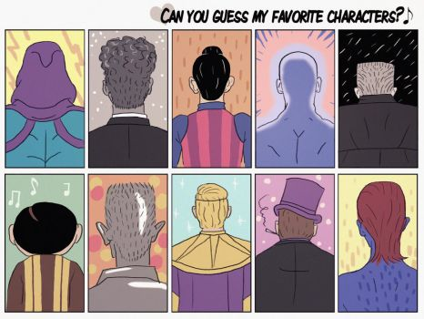 favorite characters by V-2schneider