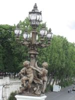 French lamp post by CAStock