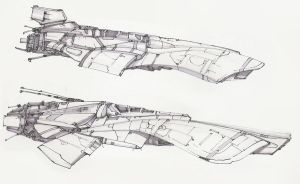 small ship concepts I by revmachine