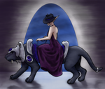 Courier of Night by CenturyofSnows