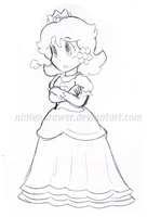 daisy doodle by Nintendrawer