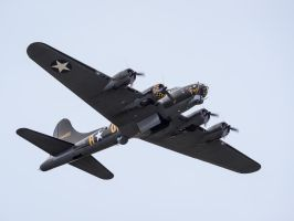 Boeing B-17G Flying Fortress Sally-B - Bomb Bay by amipal