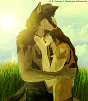 Love with Lemongrass and Blue Skies by Werethrope
