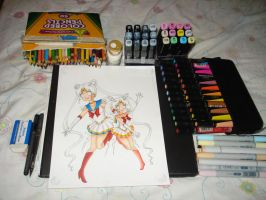 sailor moon wip by HanaIchigo94