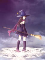 Magic Kaito - Witch by Arya032